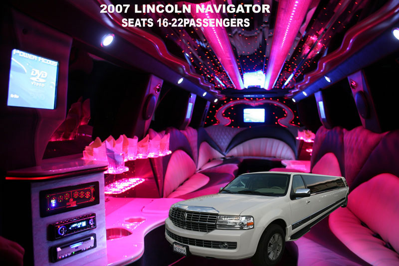 Lincoln Navigator Limo Pictures. Lincoln Navigator - Los